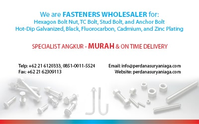Jual Anchor Bolt, Stud Bolt, Baut Baja Cilegon Banten