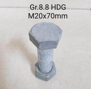 Jual Baut 8.8 hot dip galvanized